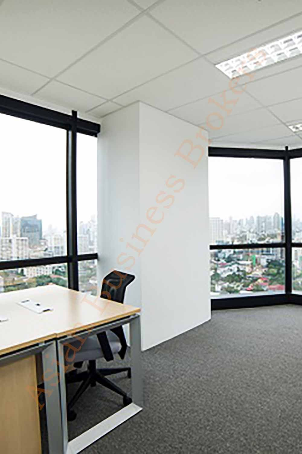 Panorama View Serviced Office Space For Rent In Ekamai Bangkok Office Space Home Rent