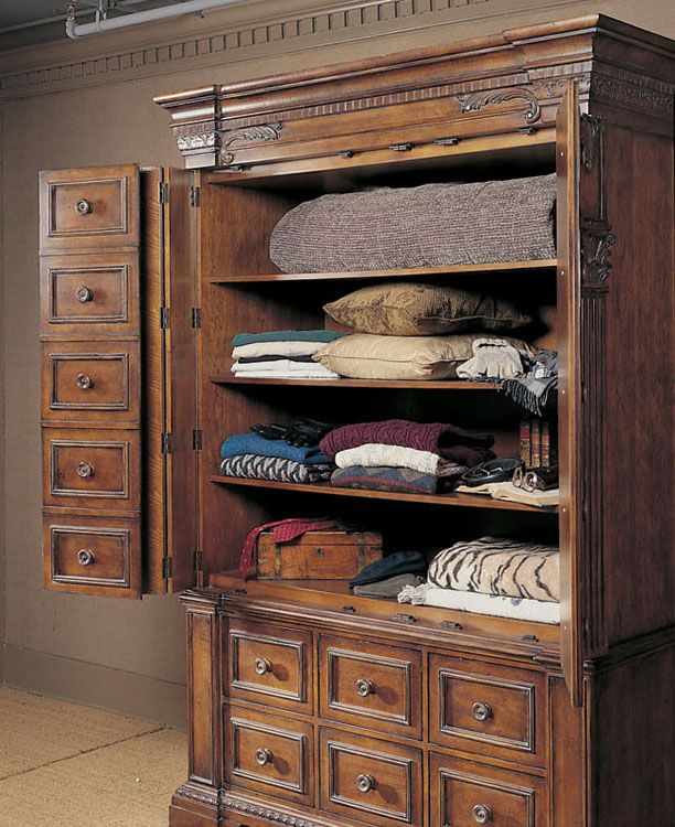 Century Furniture Bedroom Devonshire Armoire 529 215 Walter E Smithe Chicago Illinois And