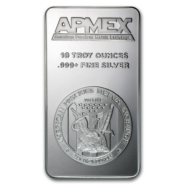 Apmex 10 Oz Silver Bar 10 Oz Silver Bars Apmex Buy Silver Online Apmex Silver Bars