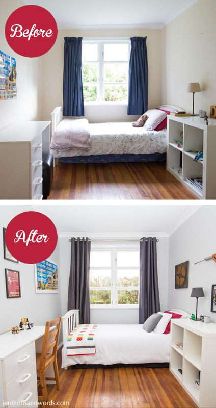 Teen boy 39 s bedroom makeover on a budget kids rooms in - Teenage girl bedroom ideas on a budget ...