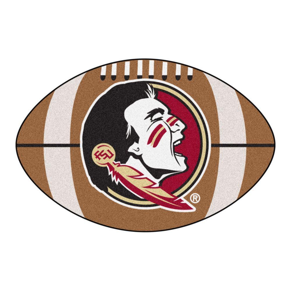 Fanmats Ncaa Florida State University Seminole Logo Brown 2 Ft X 3 F In 2020 Florida State Seminoles Football Florida State Football Florida State University Football