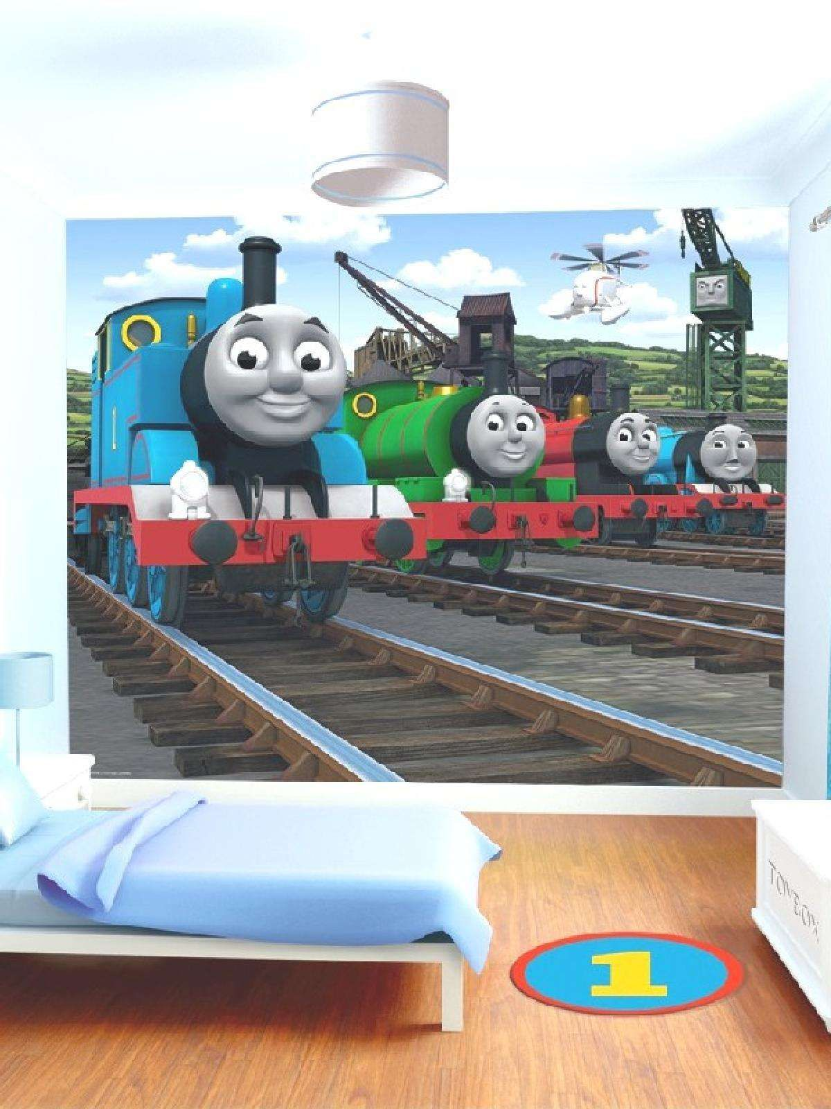 Thomas The Tank Engine Thomas the Tank Engine Wall Mural Childs