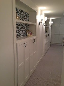 Charmant I Like Having Exposed Upper Shelves. Hallway Cabinets Design Ideas,  Pictures, Remodel, And Decor   Page 2
