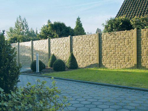 Beckers Betonzaun beckers betonzaun vertriebspartner sichtschutz gardens