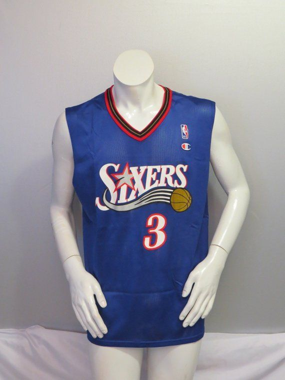 new product 5af20 401b8 Philadelphia 76ers Jersey (Retro) by Champion - Allen ...
