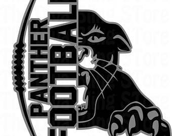 Panther Football 2Color SVG FIle Football Mom Shirts 755ba8940