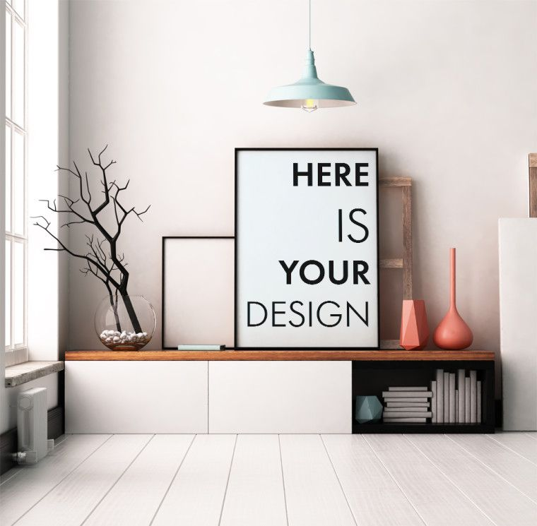 Interior Mockup Freebie Best Psd Freebies Free Mockups Living