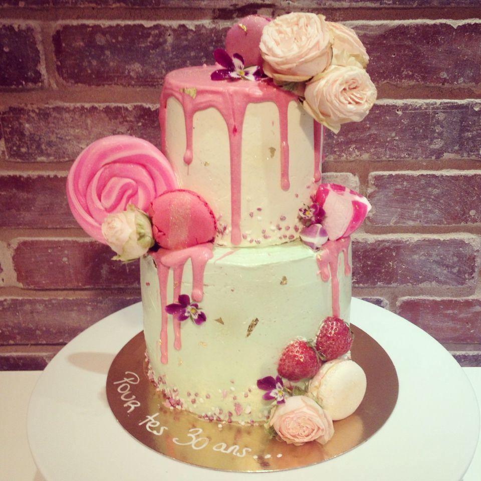 30th birthday drip cake birthdaydripcakes drip cakes
