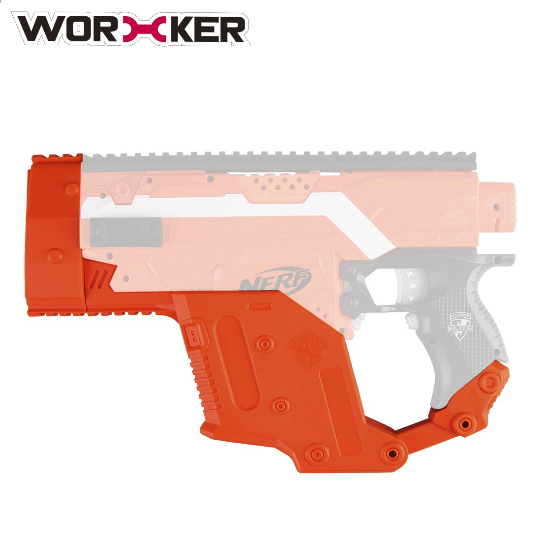 Worker 12-Dart Quick Reload Clip Magazine Modified Accessory for NERF Toy Gun NE Spielzeug für draußen