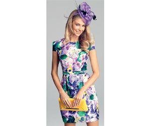 Jayson Brunsdon Black Label Cherry Blossom Dress Races
