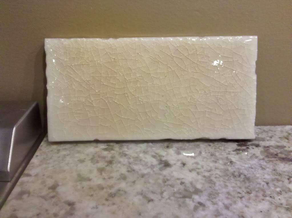 crackle subway tile backsplash