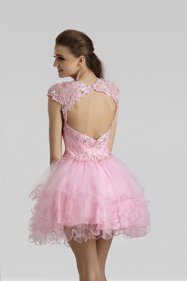 Short Pink Party Dress 2332 | Quinceañera, Vestidos de quinceañera y ...