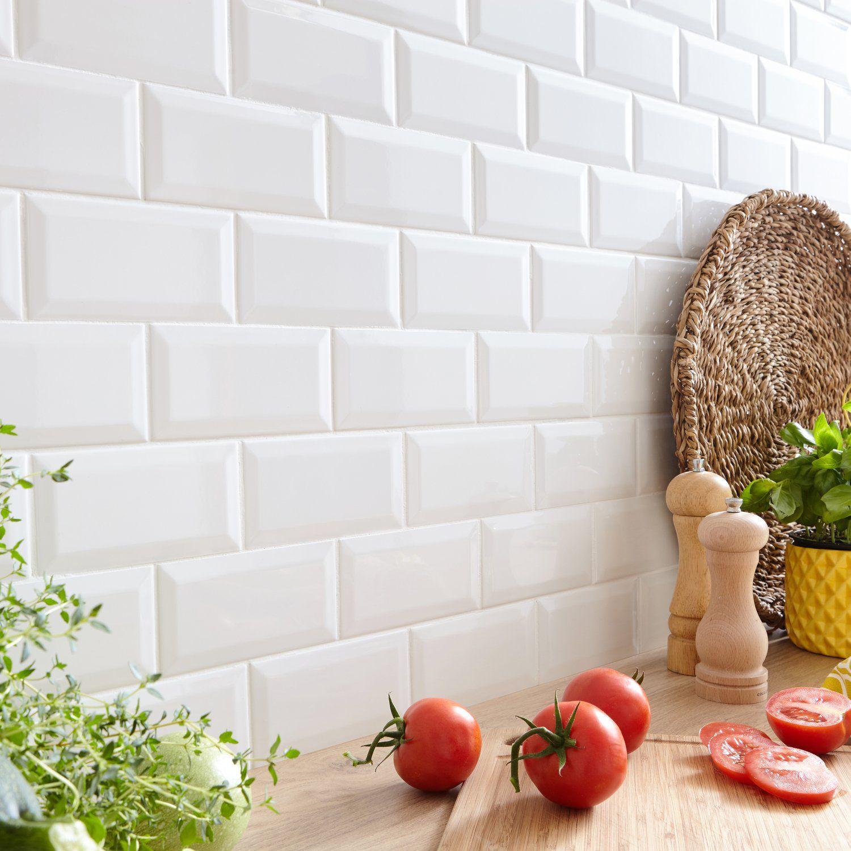 Habillez Le Mur De Votre Cuisine Avec Un Carrelage Metro Blanc