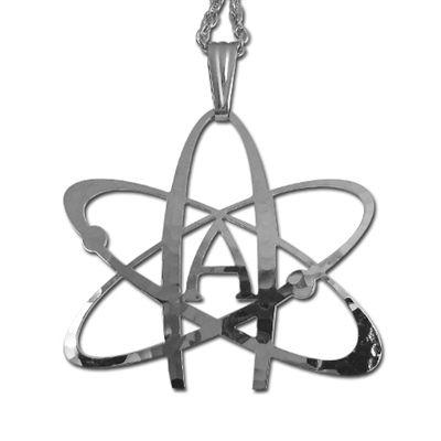 Atheist atom pendant jewelry perky pinterest pendants and atheist atom pendant aloadofball Choice Image