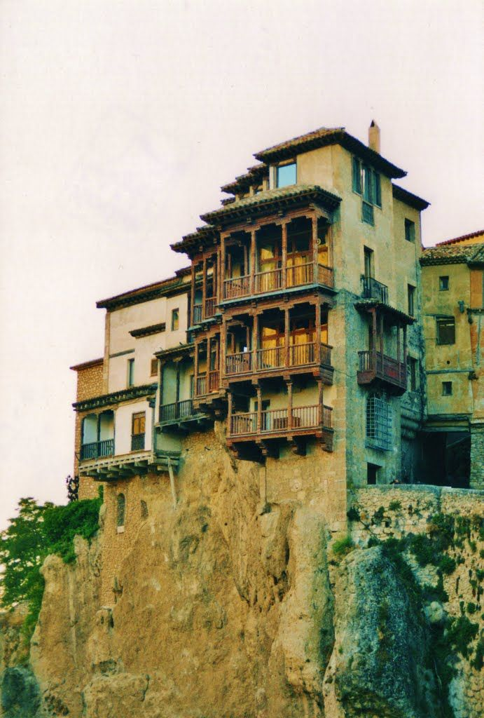 Cuenca, hanging houses, Spain