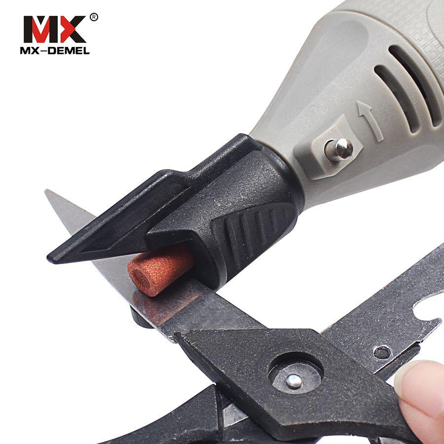 Mx Demel Saw Sharpening Attachment Sharpener Guide Drill Adapter For Dremel Drill Rotary Power Tools Mini Drill Accessories Saw Sharpening Dremel Drill Dremel