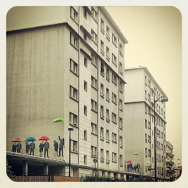 umbrellas, Paris