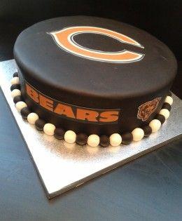 Chicago Bears Cake 195
