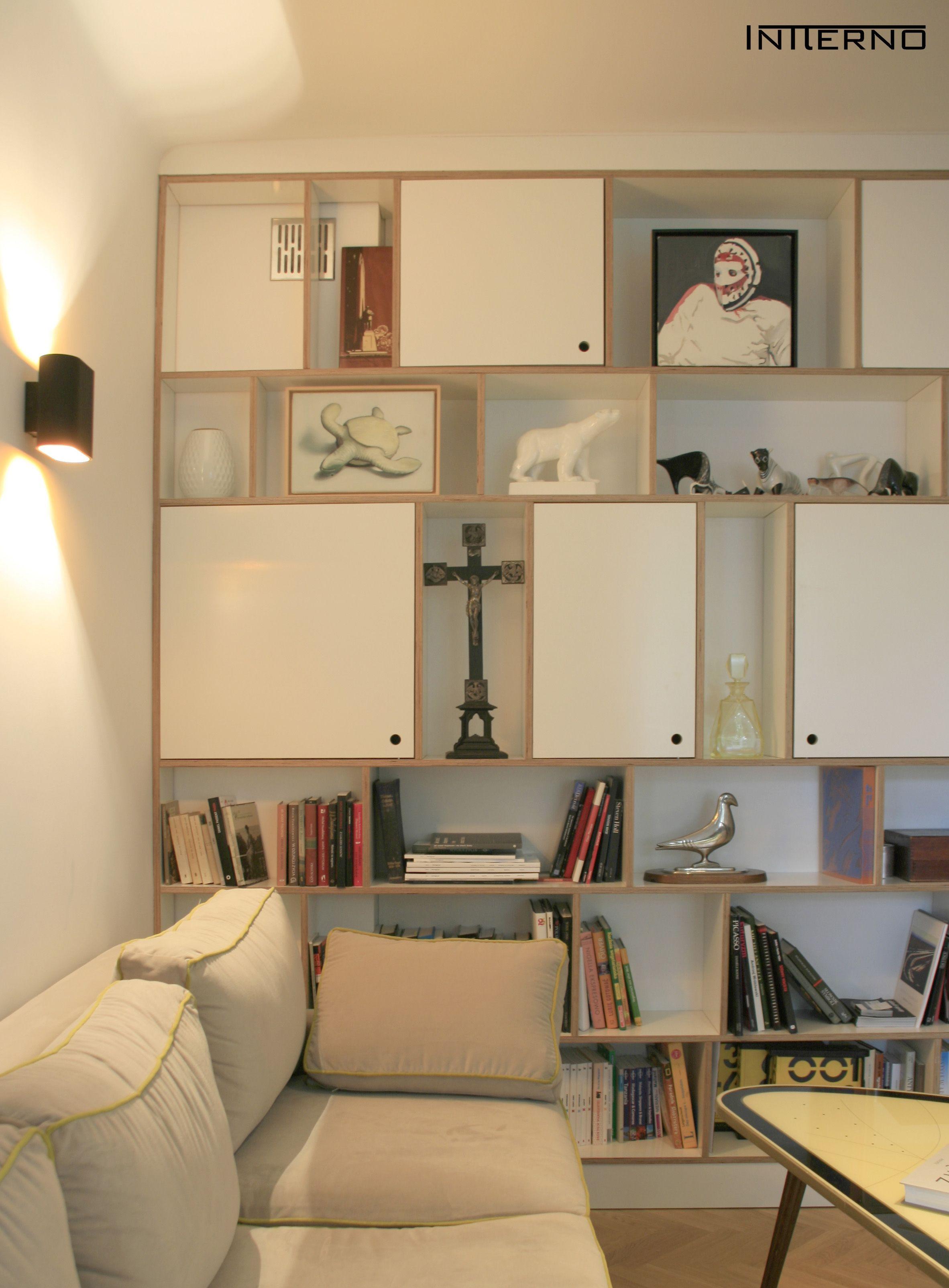 regał ze sklejki Intterno plywood furniture meble ze sklejki