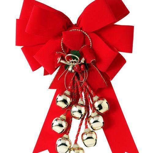Lazo rojo para navidad cintas y lazos ribbons and bows - Lazos arbol navidad ...