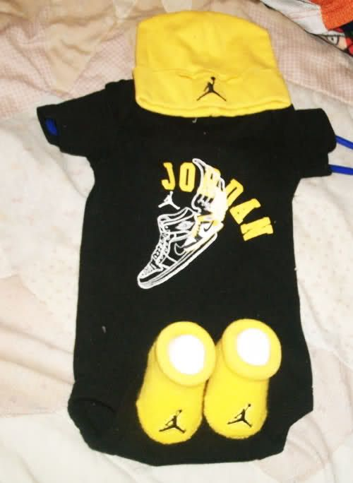 866c6c5d0e4b My son HAS to at least have one Jordan outfit.  )