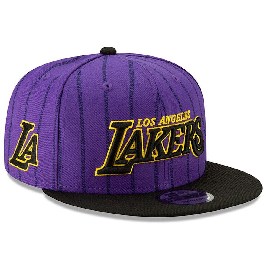 best sneakers ce1b0 4b22c Men s Los Angeles Lakers New Era Purple 2018 City Edition On-Court 9FIFTY  Snapback Adjustable Hat, Your Price   33.99
