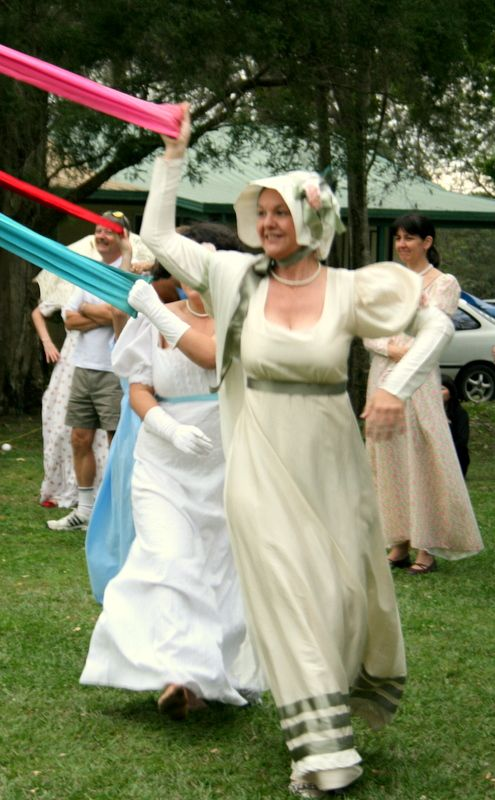 Join the Jane Austen fans reliving the Georgian era at the Picnic at Pemberley, Abbey Museum.  www.abbeymuseum.asn.au