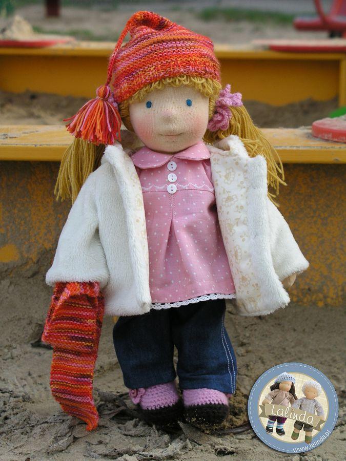 Cornelia - waldorf inspired cloth doll by Lalinda.pl | Panenky ...