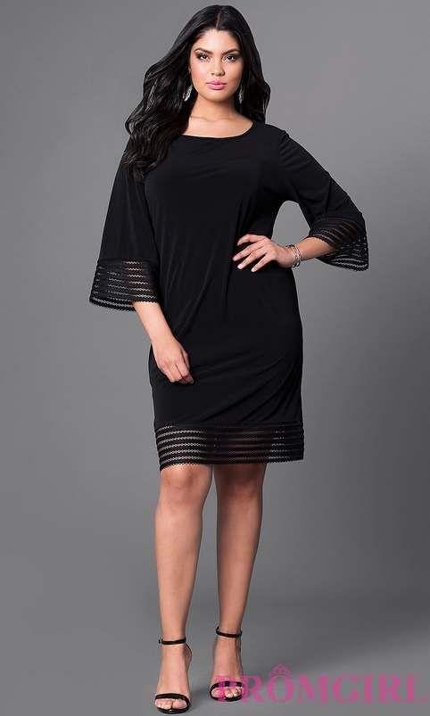 7ec61689a14 Вечерние и коктейльные платья для полных девушек американского бренда  PromGirl