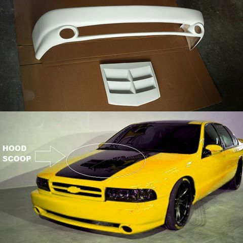 Chevy Caprice Impala 91 92 93 94 95 96 X1 Front Bumper With Zl1