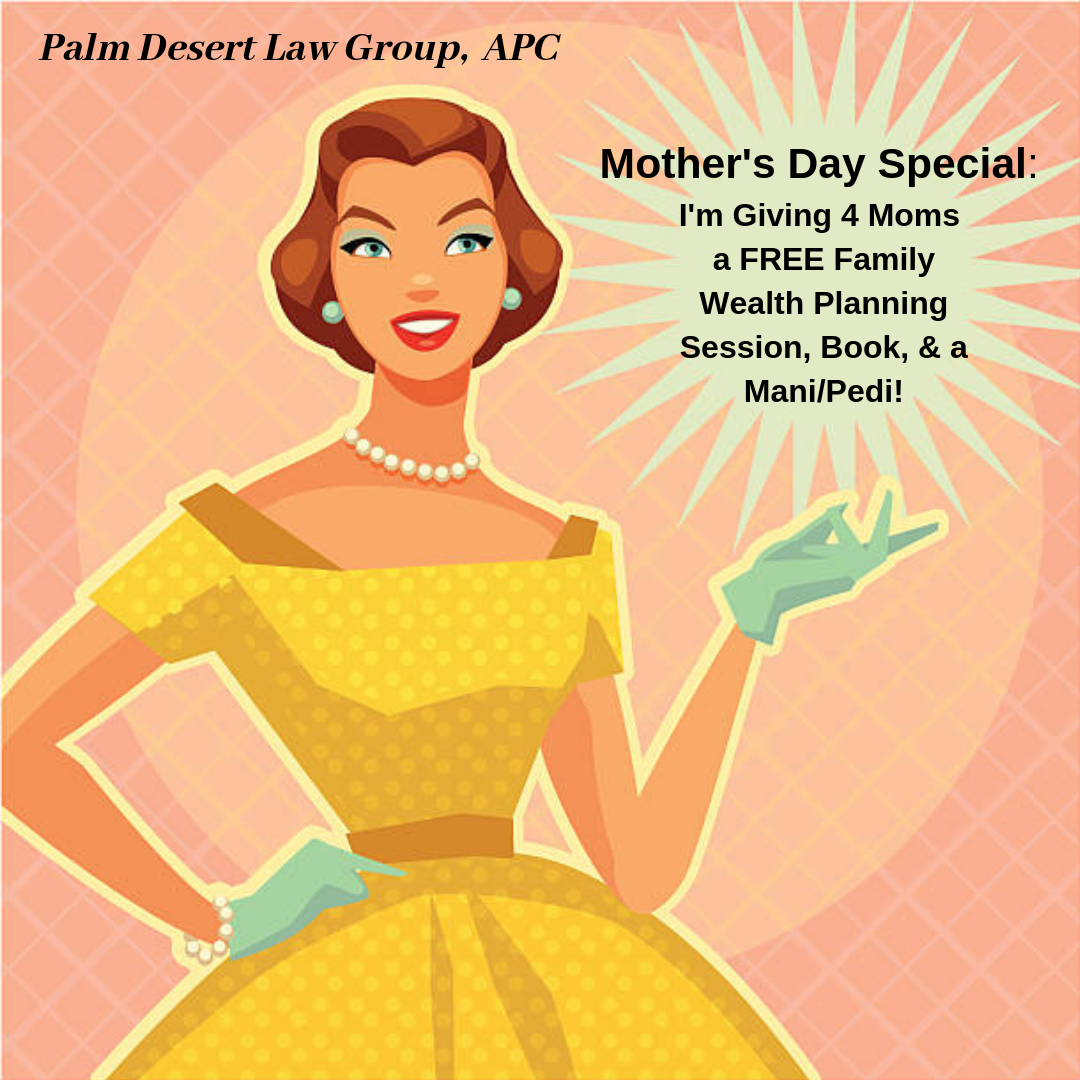 To Celebrate Mother's Day … I'm Giving Four Moms a FREE