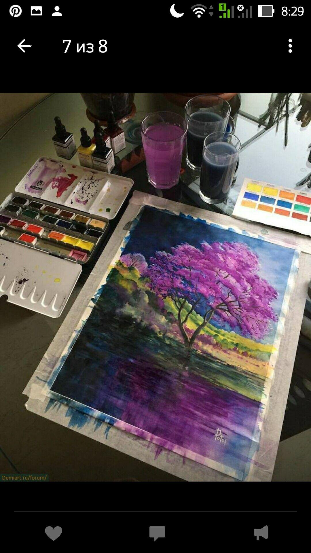 Disegno E Pittura Forum.Pin Di Neid Bsi Su Watercolor Nel 2019 Acquerello Pittura Ad
