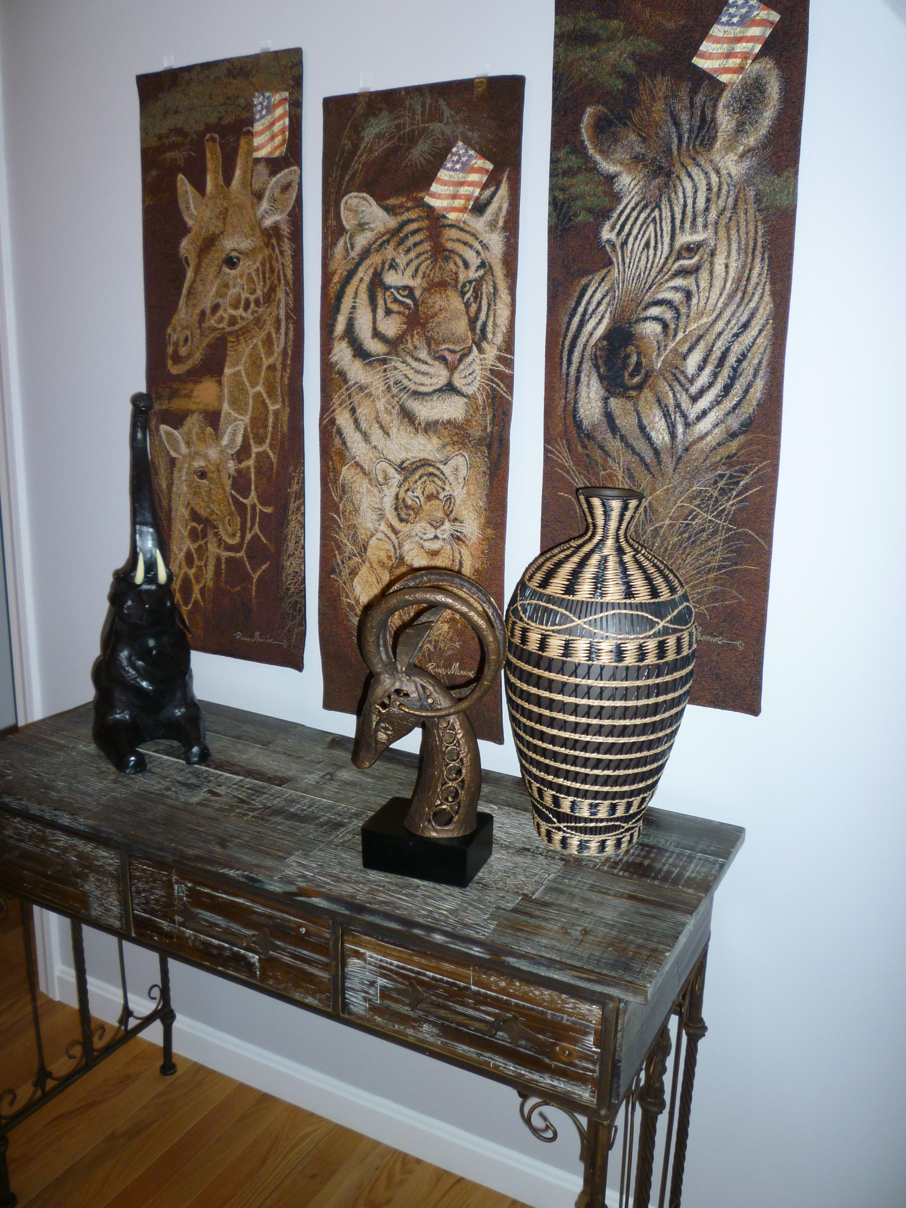 For Our African Style Hallway