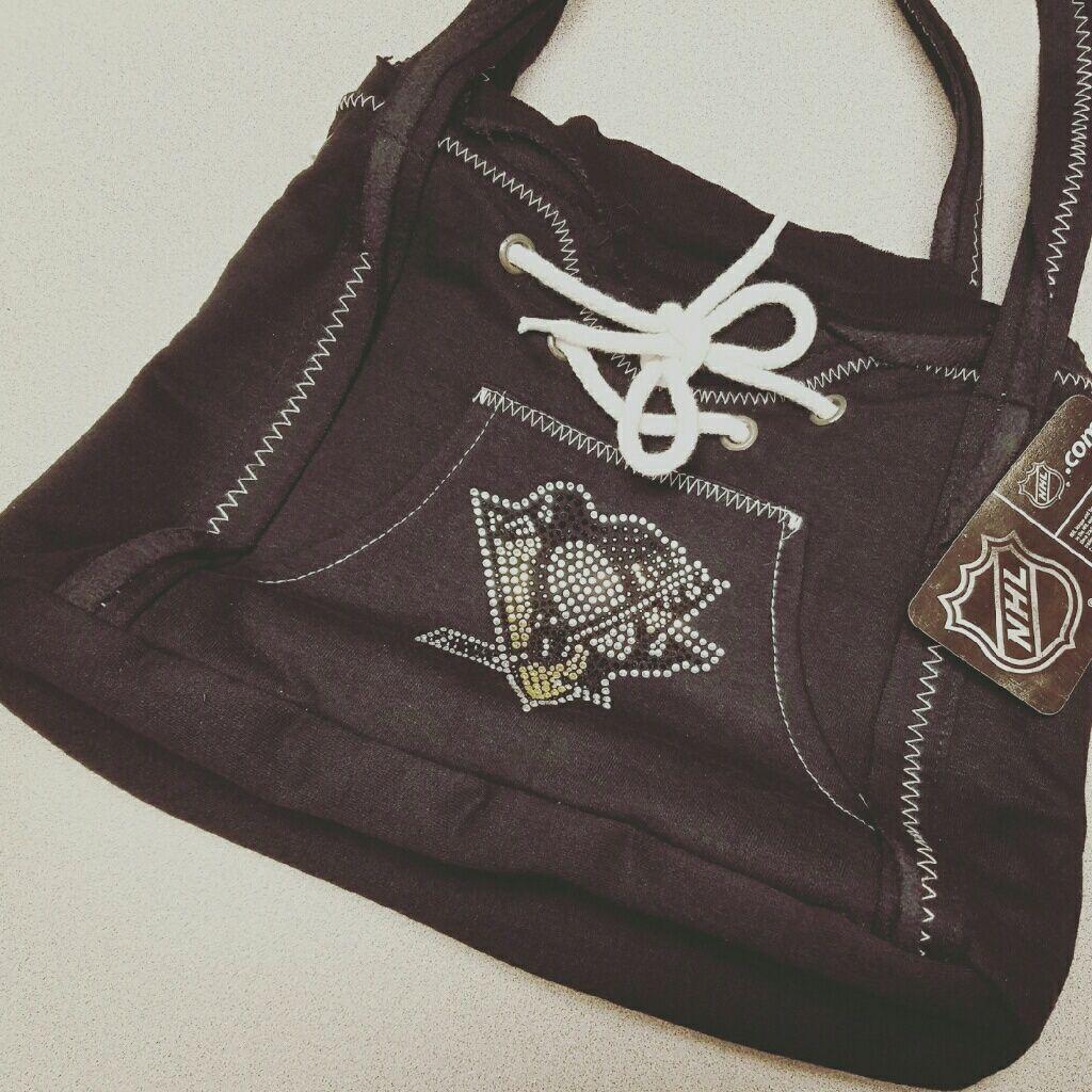 Nhl Pittsburgh Penguins Jersey Handbag