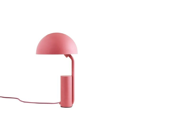 Table lamp cap by kaschkasch for normann copenhagen colour blush piep piep