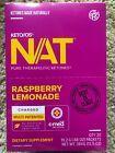 Pruvit Keto OS NAT Ketones - Charged - Raspberry LEMONADE - 20 Packets NEW #Supplements #Vitamins #raspberrylemonade