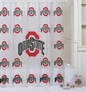 Ohio State Buckeyes 7 Pc Bathroom Set