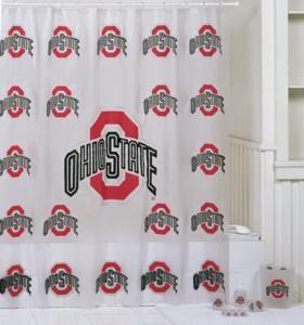 High Quality Ohio State Buckeyes 7 Pc. Bathroom Set