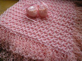arte by rose flud: manta de bebê em croche