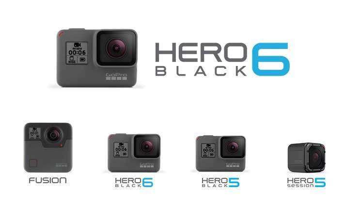 Gopro Hero 6 Black Action Camera Leaks In Official Renders Android