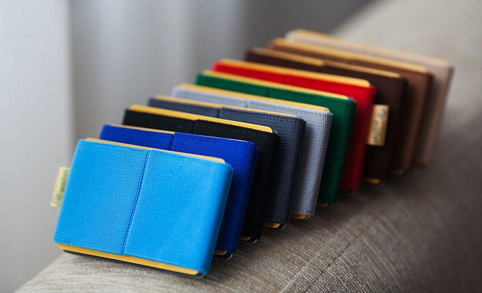 credit card fashion #credit #card #creditcard Elastic Wallet for women, credit card holder, men and women wallet , slim minimalist , modern design. $10.00, via Etsy.