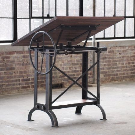 Stand Up Industrial Drafting Table Desk Mesa De Desenho Mesa