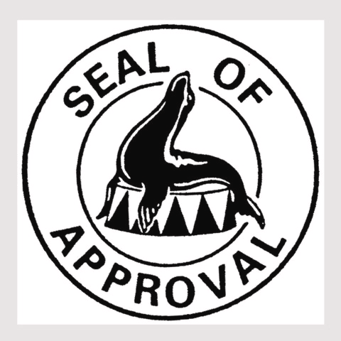 Seal Of Approval Card Making Crafts Stamp Card Making