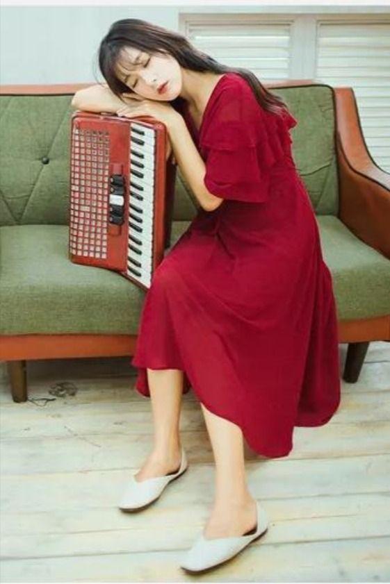 #reddress #vintage #elegant