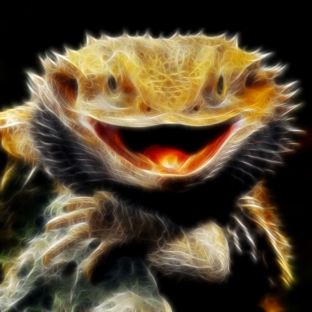 Fractalius Bearded Dragon by Sand-Rae on DeviantArt