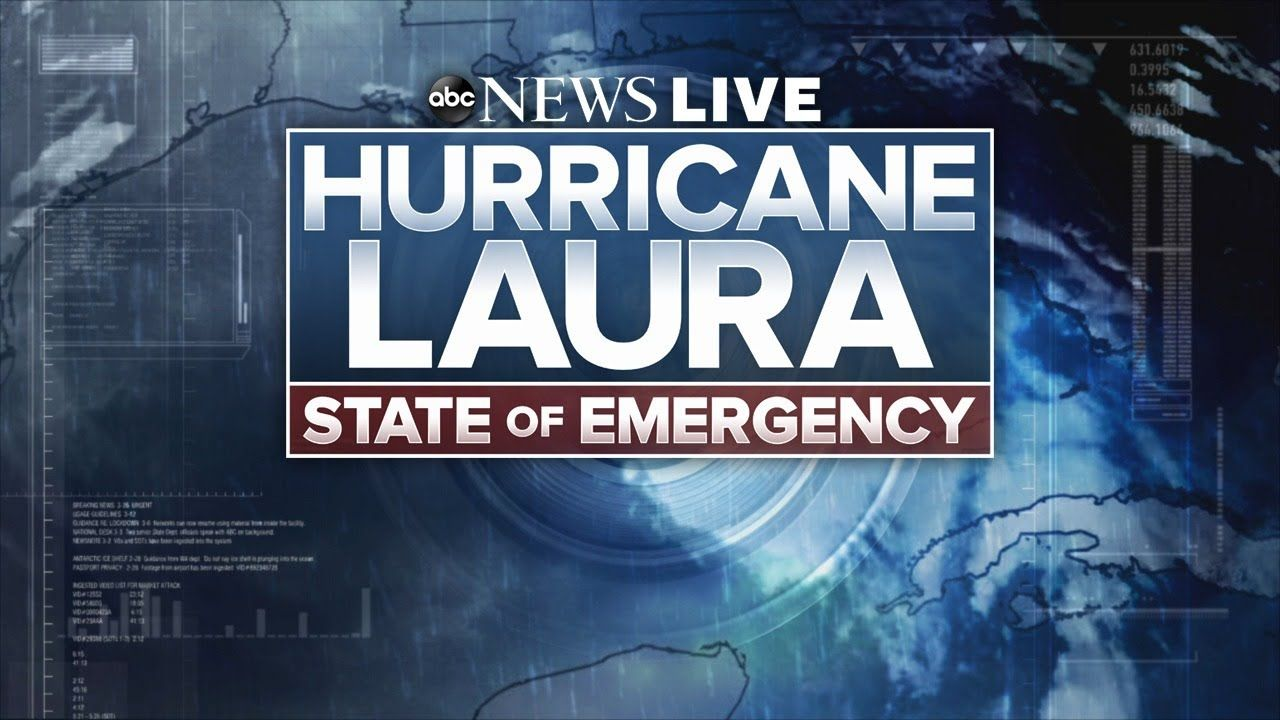 Hurricane Laura Live Coverage Powerful Storm Set To Make Landfall In Te In 2020 Abc News Hottest Music Videos Weather News