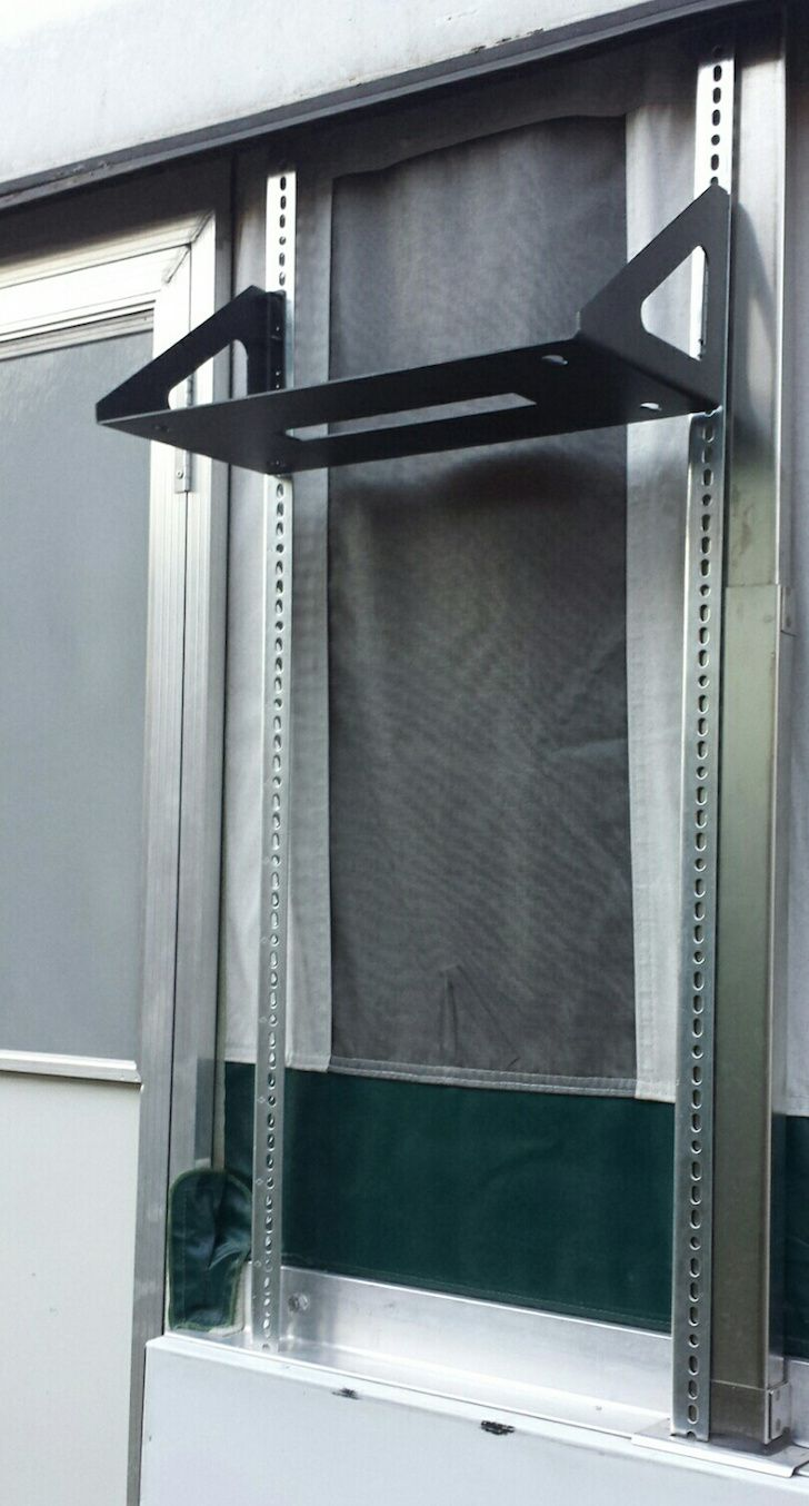 Homemade Pop Up Air Conditioner Install