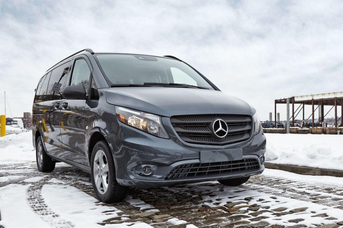 MercedesBenz Metris van goes on sale in the U.S