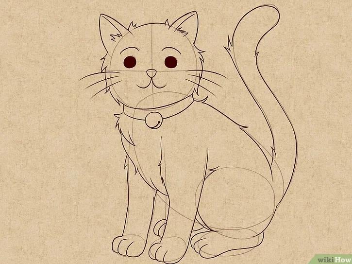 32 Gambar Hewan Berkaki Empat Kartun Tips Dan Trik Tutorial Menggambar Ilustrasi Hewan Untuk Pemula Download Ilustrasi Hewan Gambar Hewan Menggambar Kucing