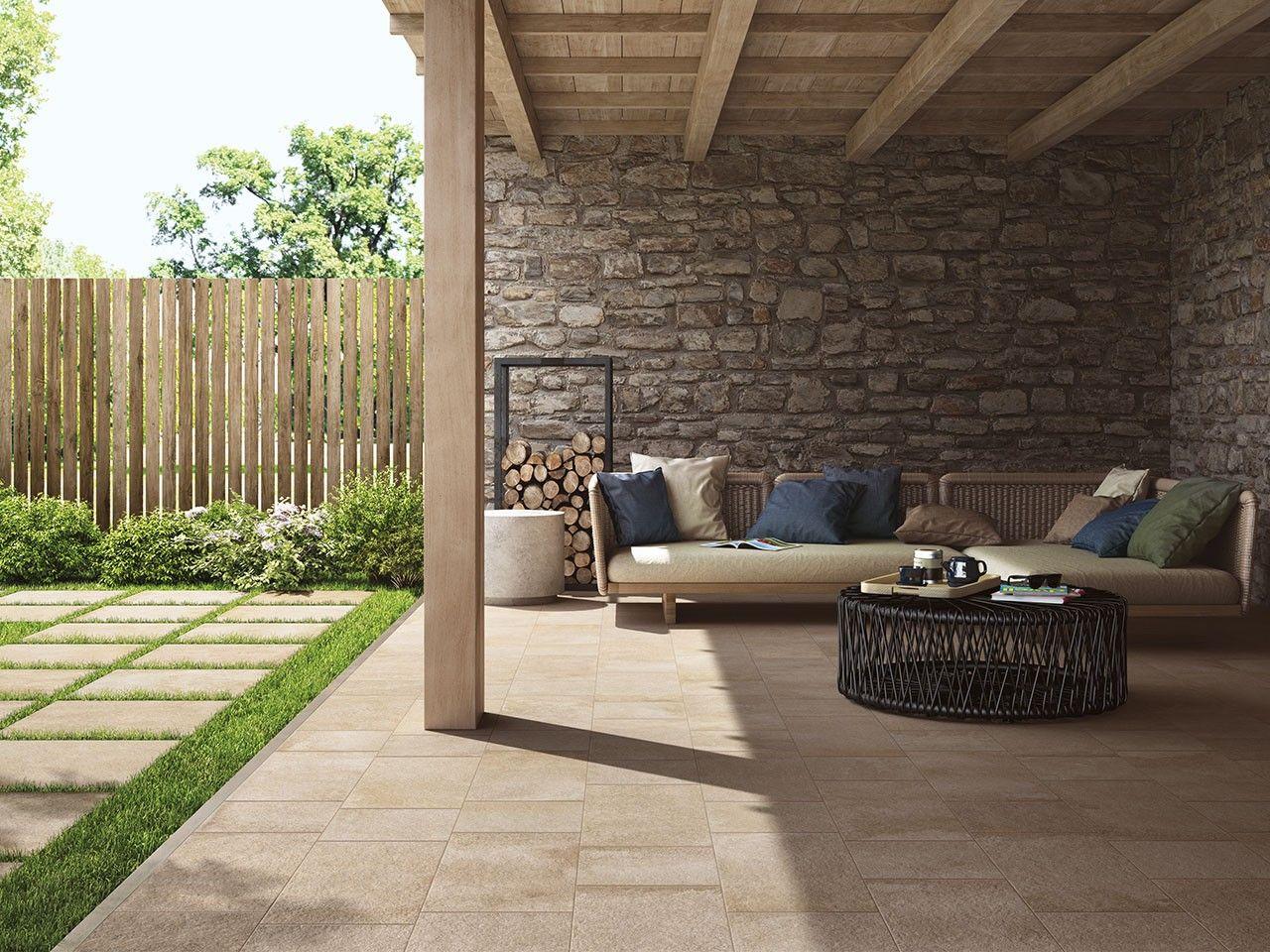Pavimenti Per Terrazzi Esterni piastrella hyde park beige 30x30 gres esterni effetto pietra